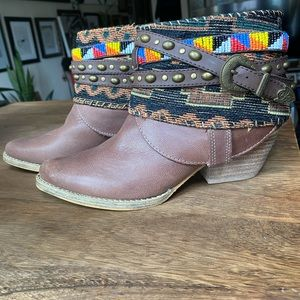 Sbicca boho booties ready for ur fall photo shoot!